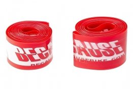 "BECAUSE - Rim tape 24"" (Red)"