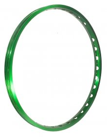 "ECHO - TR Front rim 26"", single wall (32H) / dark- green"
