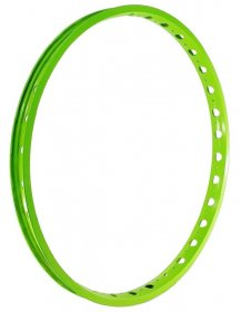 "ECHO - TR Front rim 26"", single wall (32H) / neon-green"