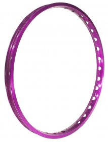 "ECHO - TR Front rim 26"", single wall (32H) / purple"