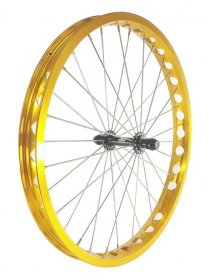 "ECHO - TR/TR Front wheel 20"", single wall (32H)"