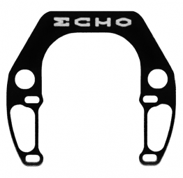 ECHO - Brake booster (Black, 4 bolts)
