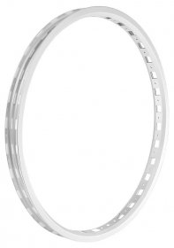 "TRIALTECH - SL Front rim 26"", single wall (32H) / white"